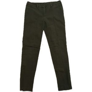 Green riding style pants 4